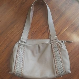Made in Italy Genuine Leather Vintag Shoulder Tote